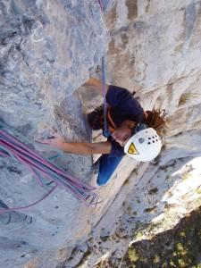 escalade en grande voie avec les guides de haute montagne de Grenoble-Ecrins dans les massifs proches de Grenbole