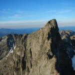sommet du Grand Pic vu depuis le Pic central