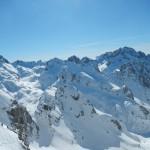 raid à ski dans Mercantour