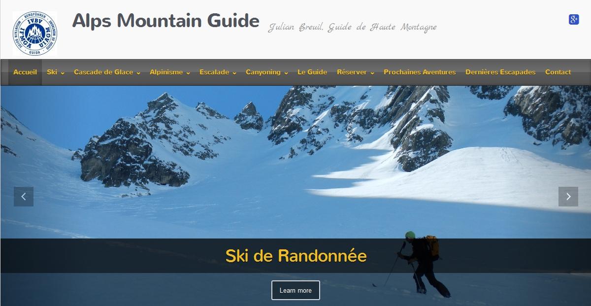 Le site Grenoble-Ecrins.com devient AlpsMountainGuide.com